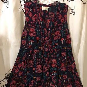 Nathalie lete Paris 100% Silk Sleeveless Tunic
